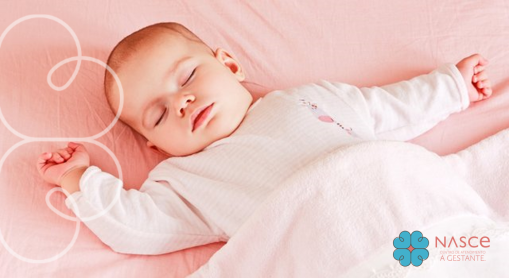 posição ideal para o bebe dormir nasce mother care